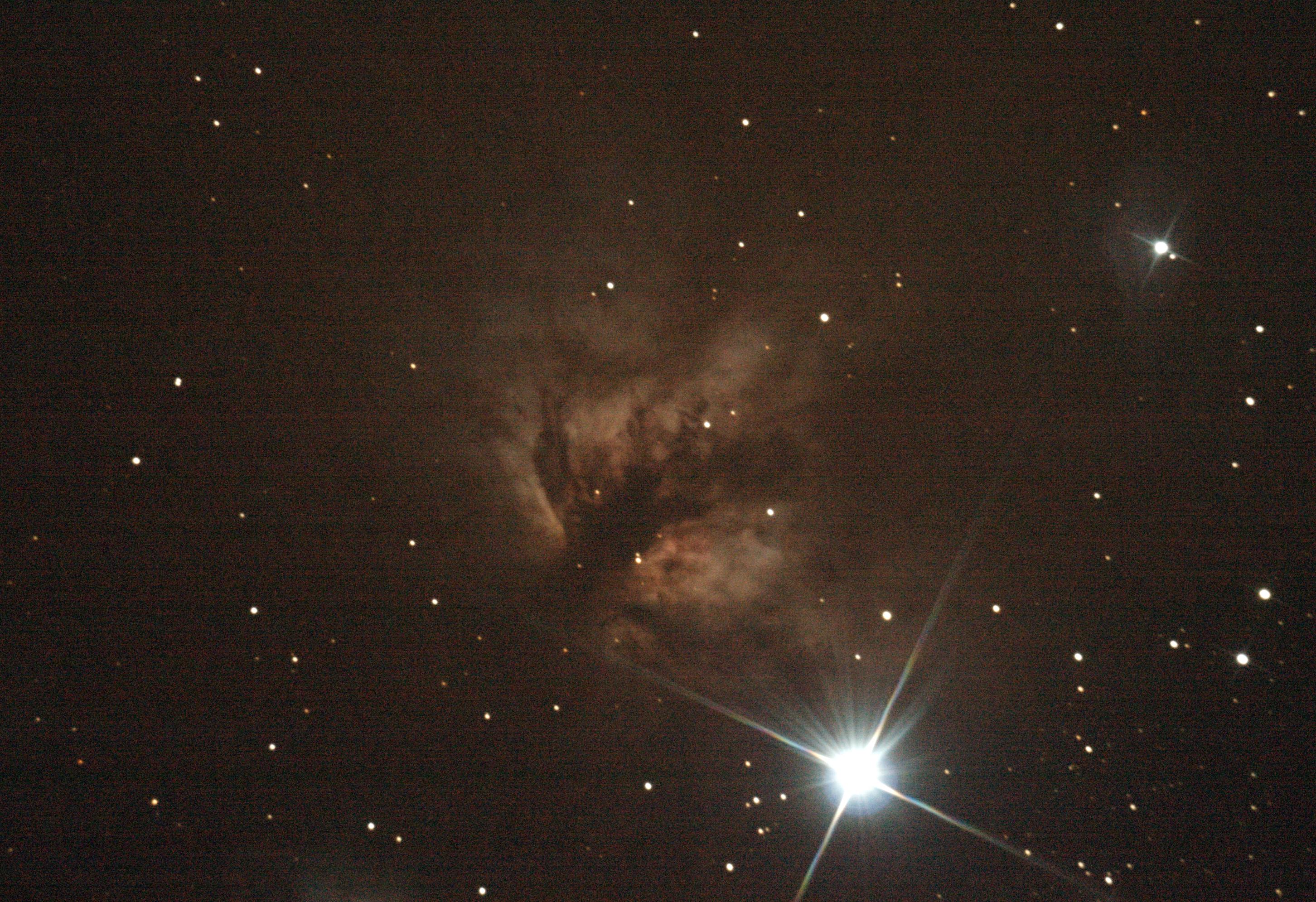 Orion - Nébuleuse de la Flamme