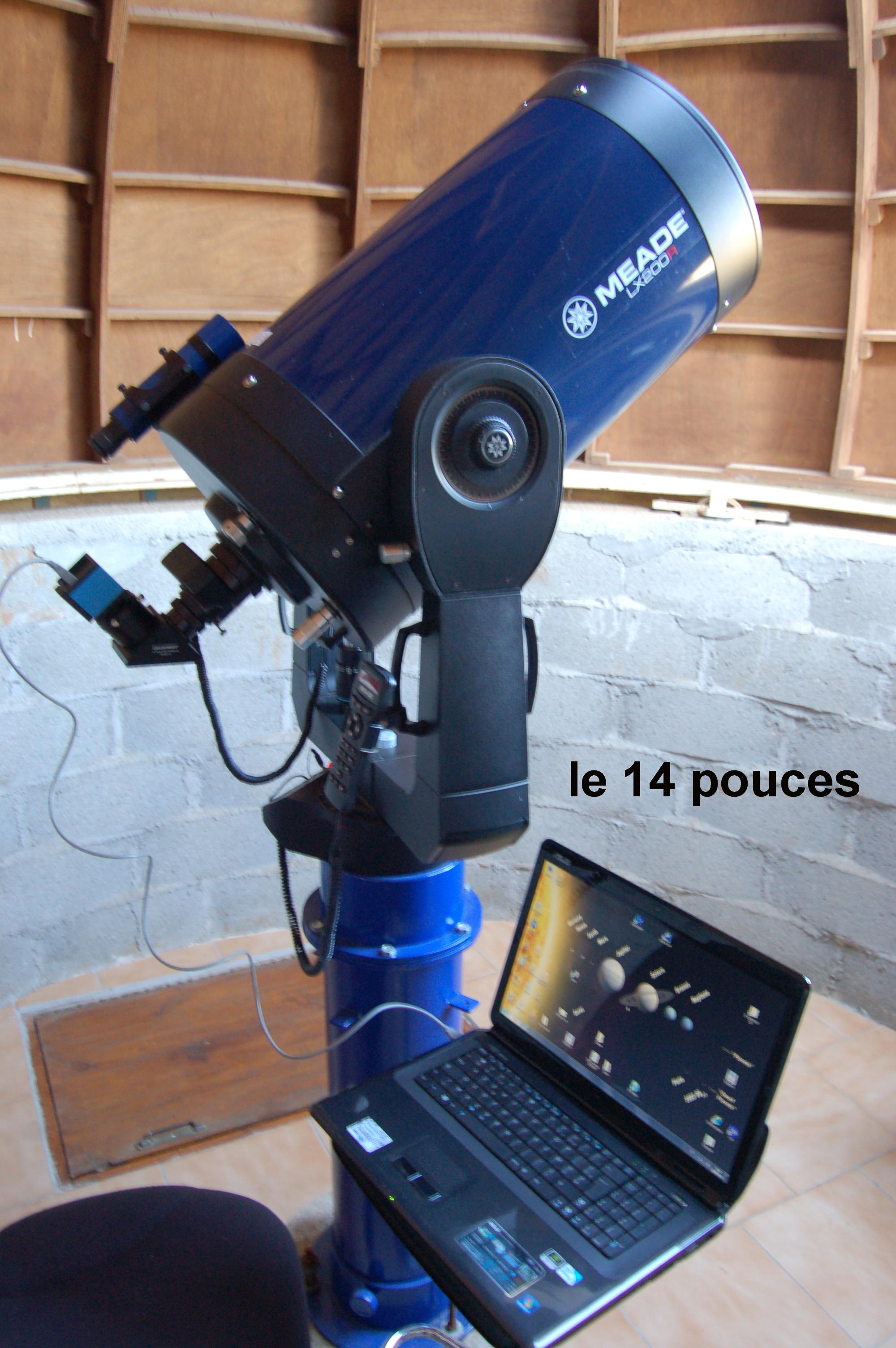 02-Télescope 14 pouces